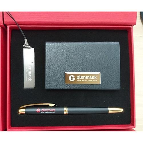 GSV 004 - Bộ Giftset USB + Bút ký + Hộp NameCard