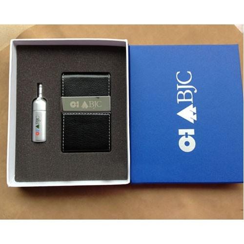 GSV 008 - Bộ Giftset  USB + Hộp NameCard