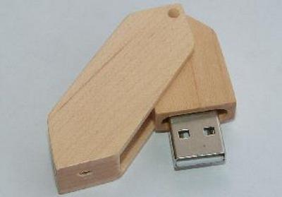 UGV 029 - USB Gỗ Xoay