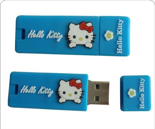 UTV 012 - USB Hình Mèo Con Hello Kitty