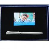 GSV 007 - Bộ Giftset, USB thẻ, Bút Kim Loại
