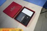 GSV 016 - Giftset USB Da - Hộp NameCard - Pin Sạc Dự Phòng