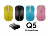 Bosston Q5 - Chuột không dây in logo làm quà tặng