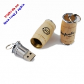 UGV 023- USB Gỗ Barrel